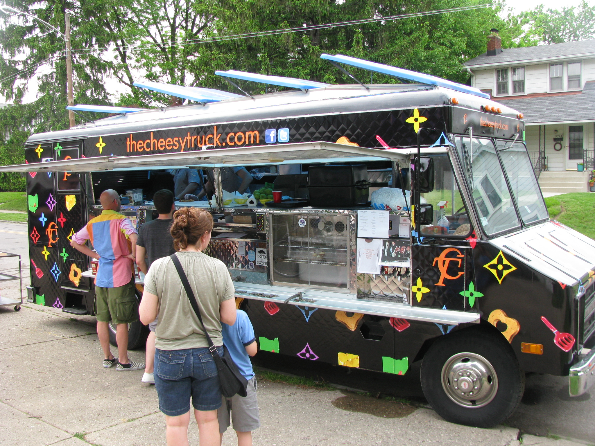 Cheesy Street Food Truck Ohio