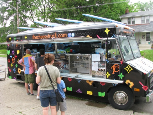 grilled cheese truck , mobile food columbus