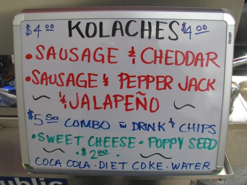 kolaches in columbus, street food in Columbus