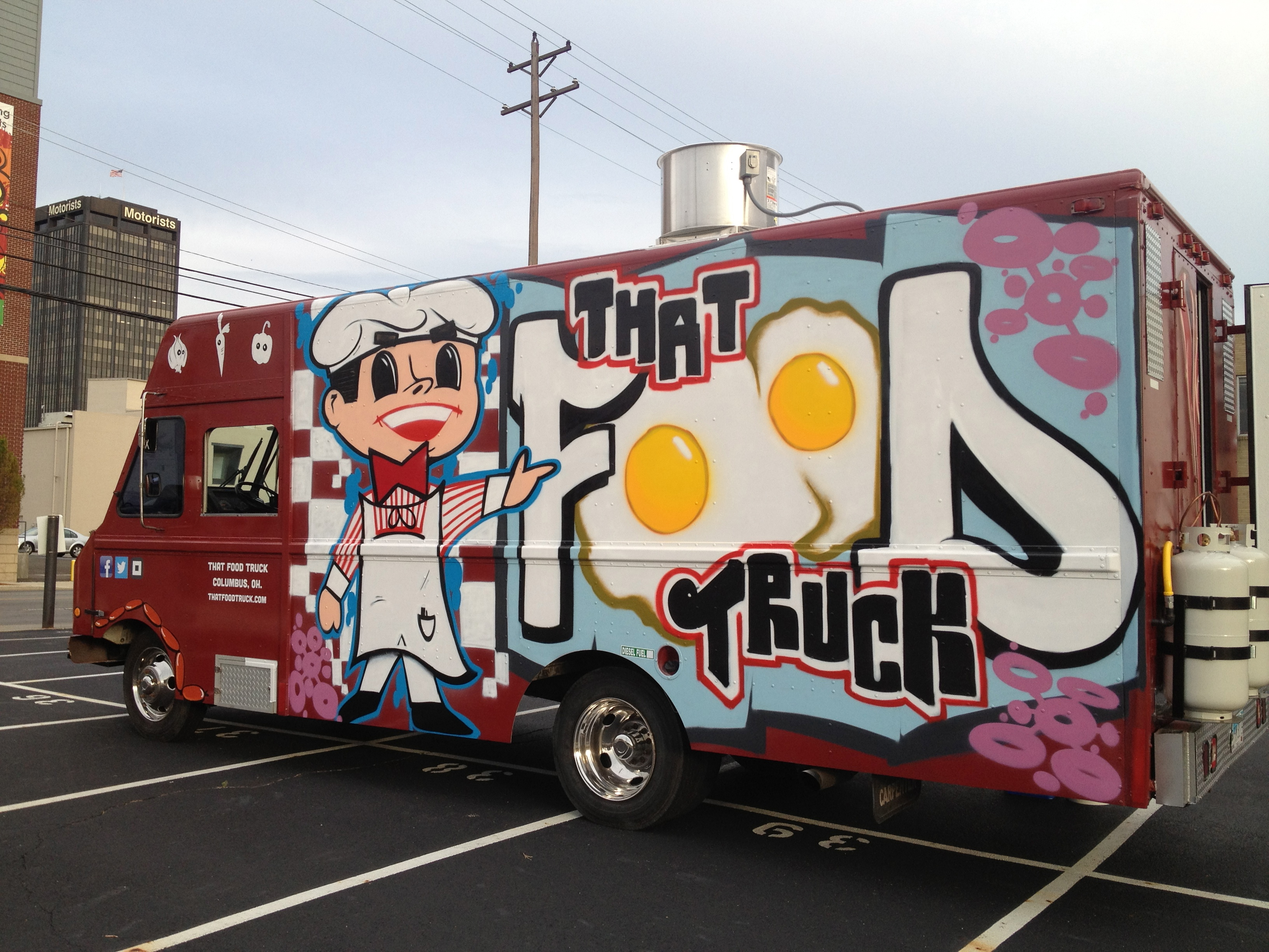 That food truck street eats columbus for Design your food truck