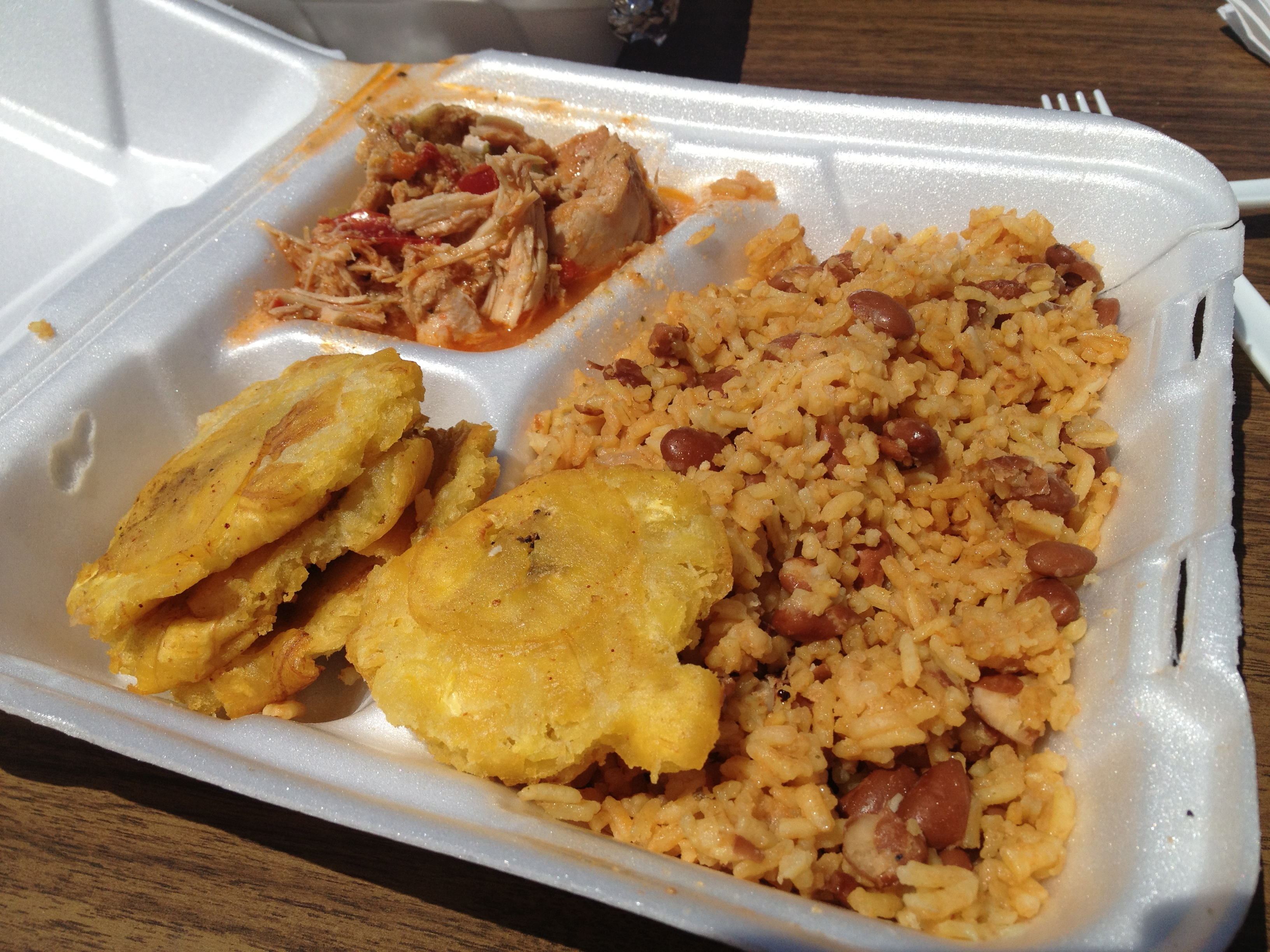 Dominican food in columbus street eats columbus for Authentic puerto rican cuisine