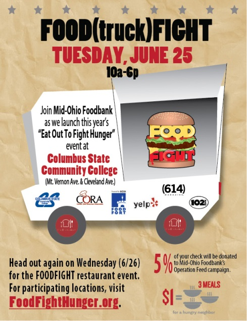 Food Fight June 25th