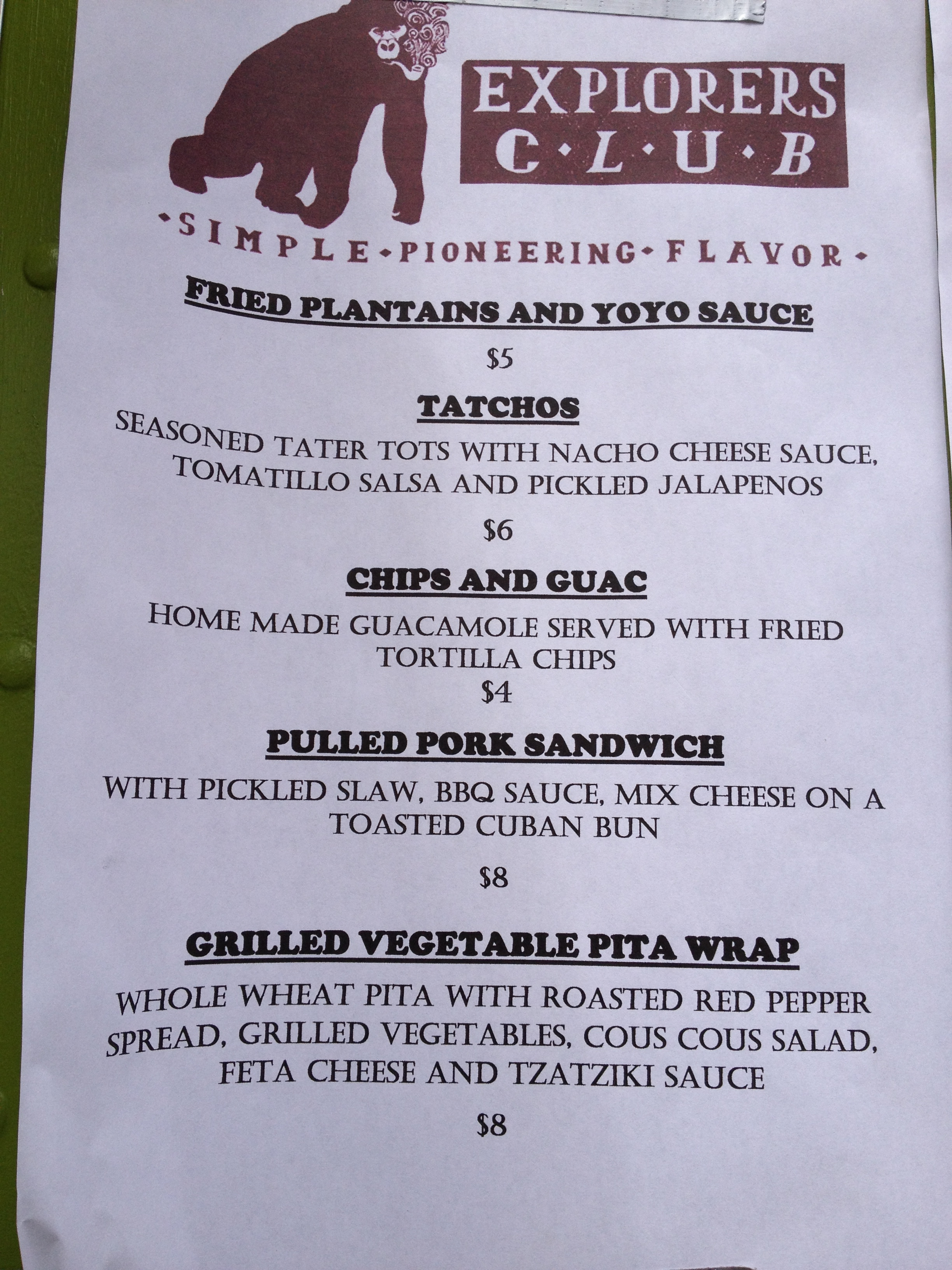 menu prime