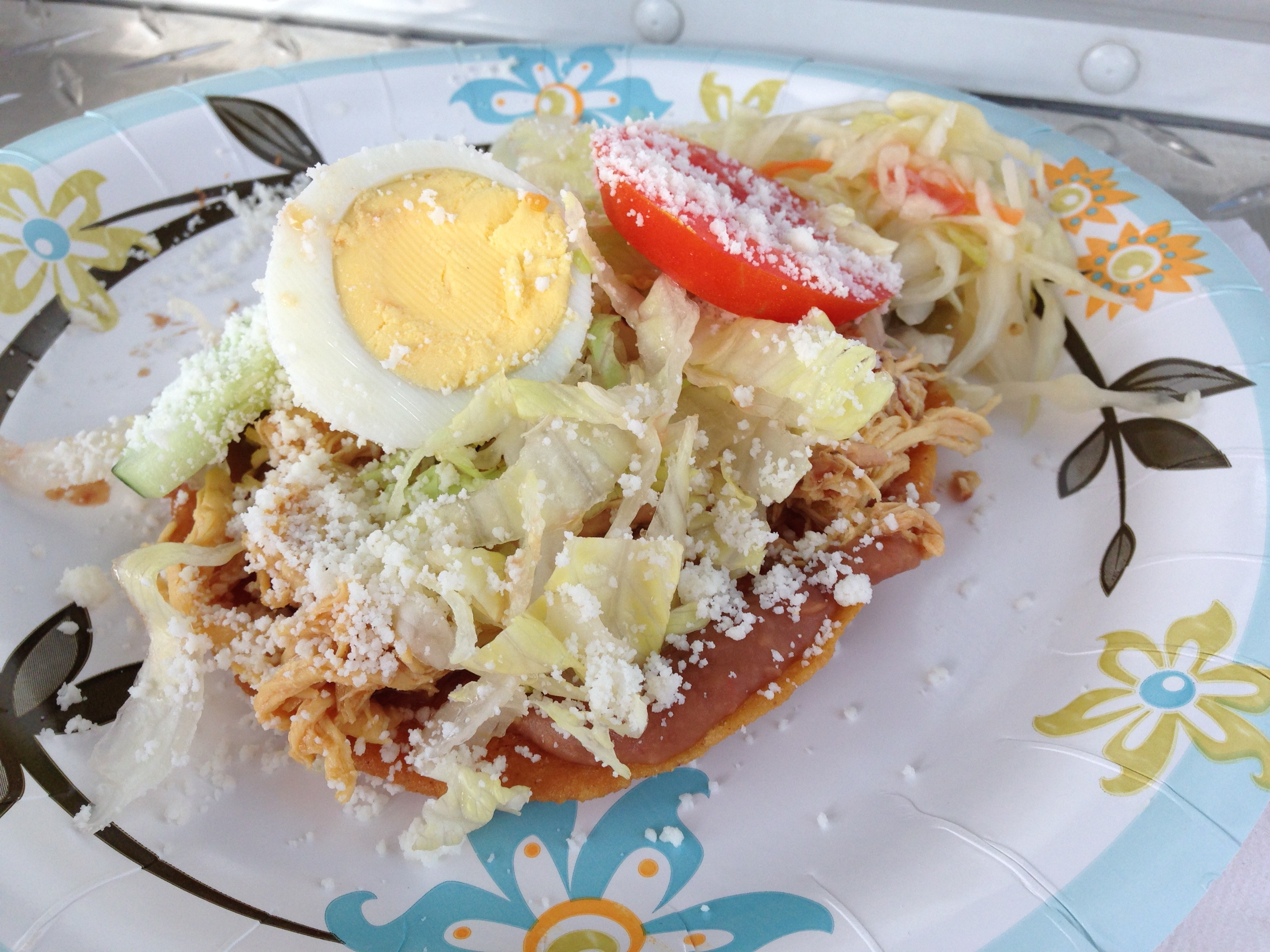 Enchiladas Salvadorenos are similar to a Mexican tostada. At El ...